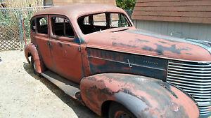1938 38 Pontiac 4 Door Sedan Ebay