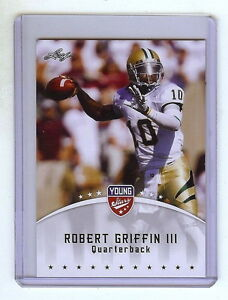 ROBERT-GRIFFIN-III-034-RG3-034-2012-LEAF-034-YOUNG-STARS-034-ROOKIE-CARD-HEISMAN-REDSKINS