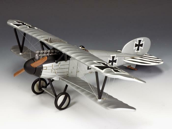 King & Country RETIRED FW115 Albatros DV Ernst Udet LE150 - Mint in the Box