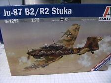 Italeri 1292-1//72 Deutsche Junkers Ju-87 B2//R2 Stuka Luftwaffe Neu