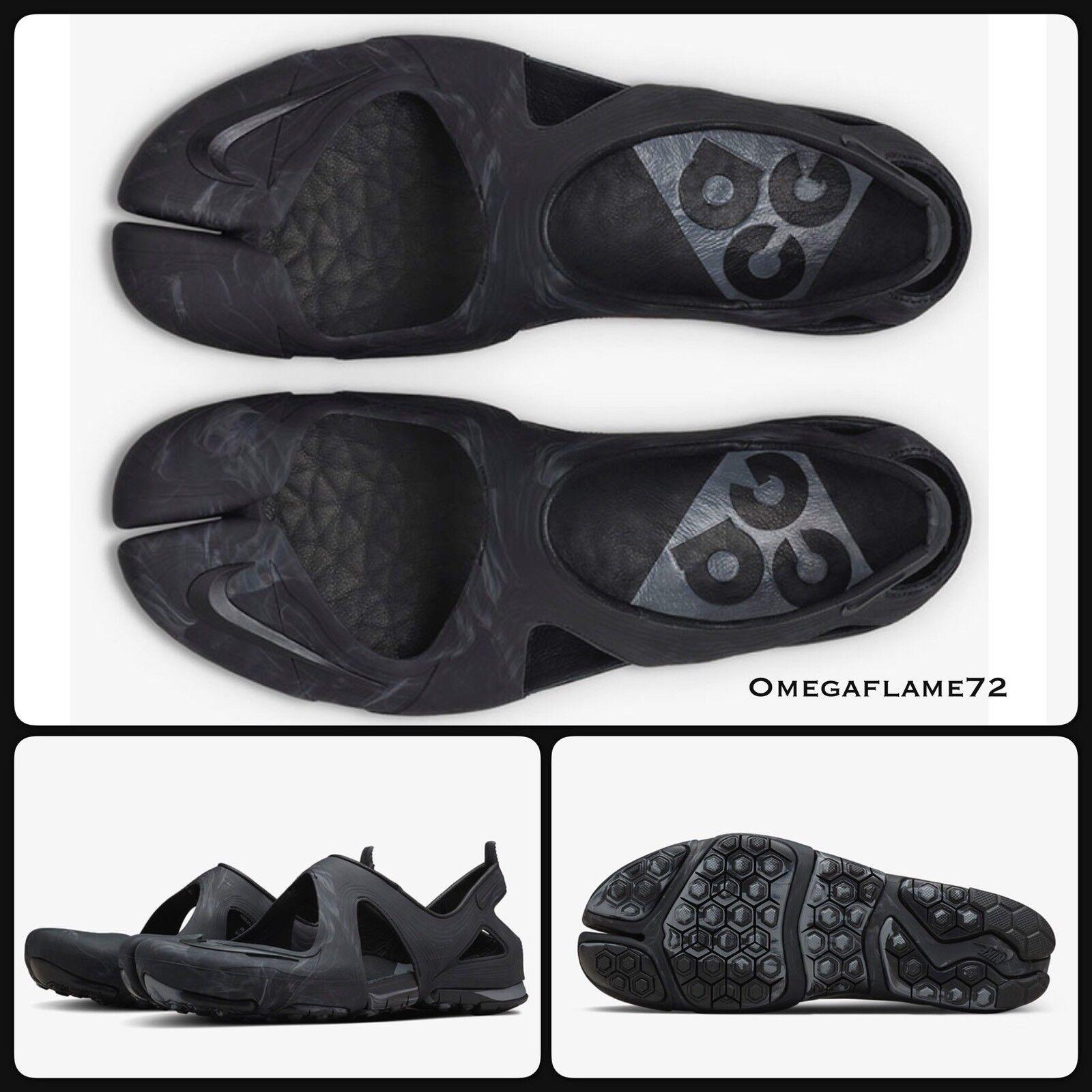 Nike Free Rift Sandal ACG SP, Black, 813052-004, US 8