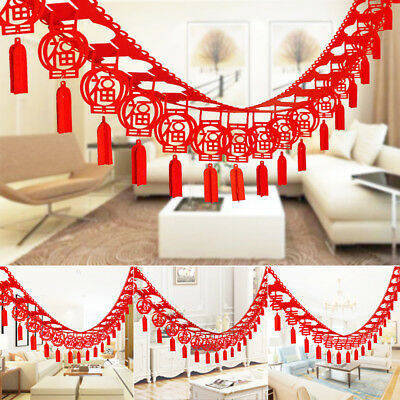 Superb New Year Party Hanging Decoration Asian Flag Banner Streamer Home Remodeling Inspirations Genioncuboardxyz