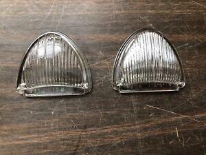 1953 Dodge Chevy Car NOS Park Light Lens Lenses Mopar 5943220 2-612 Parking Lamp