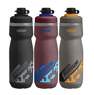 CAMELBAK PODIUM ICE INSULATED WATER BOTTLE 600ml 21oz 3 COLOURS BPA /& BPS FREE
