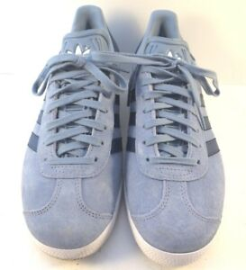 best cheap 67e07 30700 ... Adidas-Blue-Suede-Gacela-Originals-Informal-Zapatos-Zapatillas-