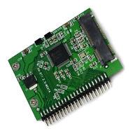 mSATA Mini PCI-E SSD Female To 2.5 inch 44 Pin IDE Male Converter Adapter 5V TW