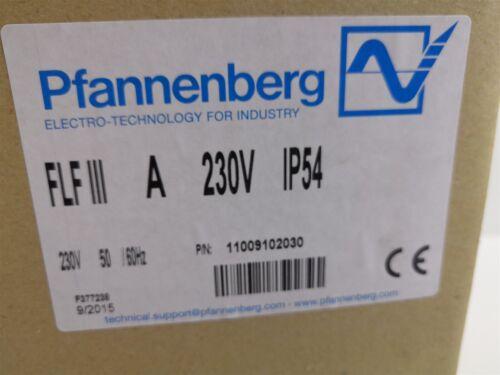 Pfannenberg FLF III Filterlüfter 11009102030