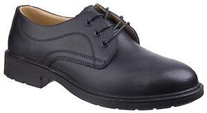 82364fbd968 Details about Amblers FS45 Safety Shoes Mens Smart Steel Toe Cap Industrial  Work Footwear