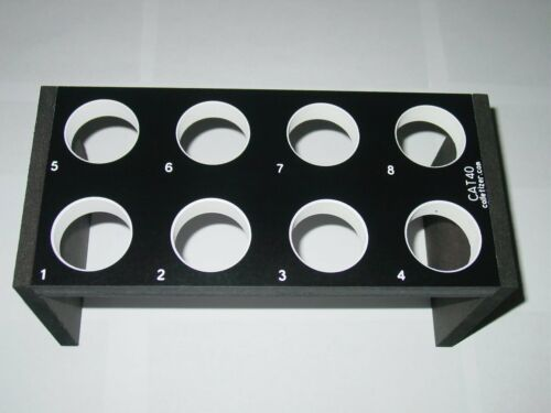 CNC Taper Tooling Tray Stand NCQ4-1i CAT40 BT40 NMTB40 Tool Holder Storage Rack