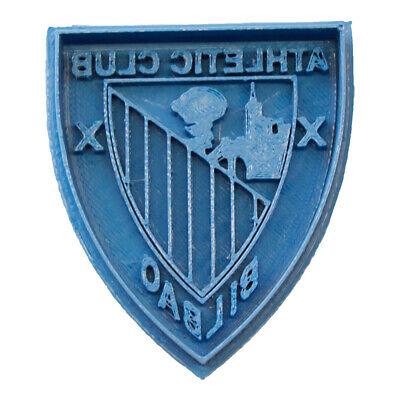 Cuticuter Atleti de Bilbao Cookie Cutter Cortador de Galletas Futbol Azul