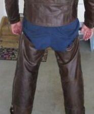 Harley Davidson Lined Shovelhead Brown Leather Chaps 98522-01VM MENS 2XL LONG