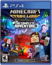 Minecraft: Story Mode -- The Complete Adventure (Sony PlayStation 4, 2016)