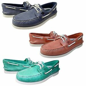 Chaussures Moc Casual Bateaux Casquette sider Oeillets Hommes 2 A Sperry Top Blanche Toe o pqzPAnw