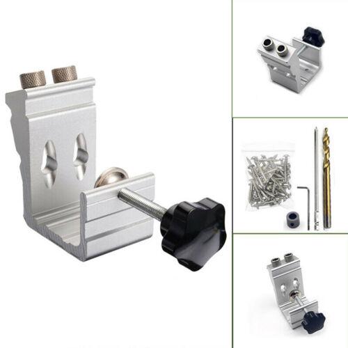 Pocket Hole Jig Kit Tool System Woodworking Screw Drill 850 EZ Heavy Duty