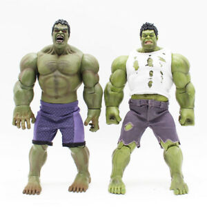 Marvel-Series-Hulk-Real-Clothes-Version-PVC-Action-Figure-Collectible-Model-Toy