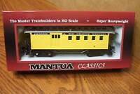 Mantua Classics/mrc D&rgw 1890 Combine Wooden Passenger Car Ho Scale