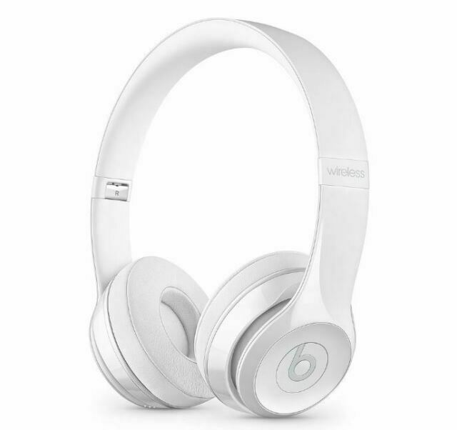 Beats Solo3 Wireless On Ear Headphones Gloss White For Sale Online Ebay