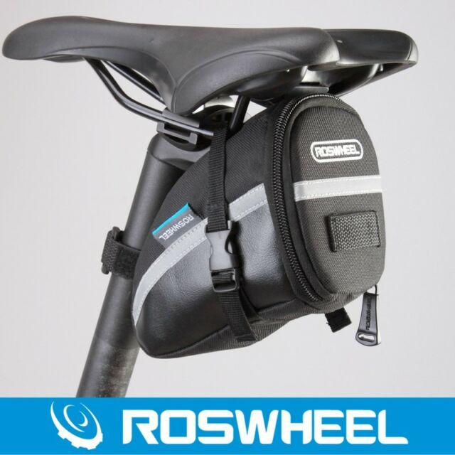 ROSWHEEL Bicycle Cycling Outdoor Bike Tail Rear Saddle Seat Bag Pouch Storage