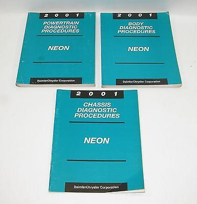 2004 DODGE CHRYSLER NEON Powertrain Diagnostic Procedures  Manual