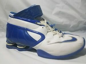wholesale dealer 8da31 05e65 Image is loading Nike-Shox-Elite-316685-142-Basketball-High-Top-