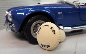 Lucas Repro Dash Smiths Heater Control Rheostat Knob Ivory Classic Car Morgan