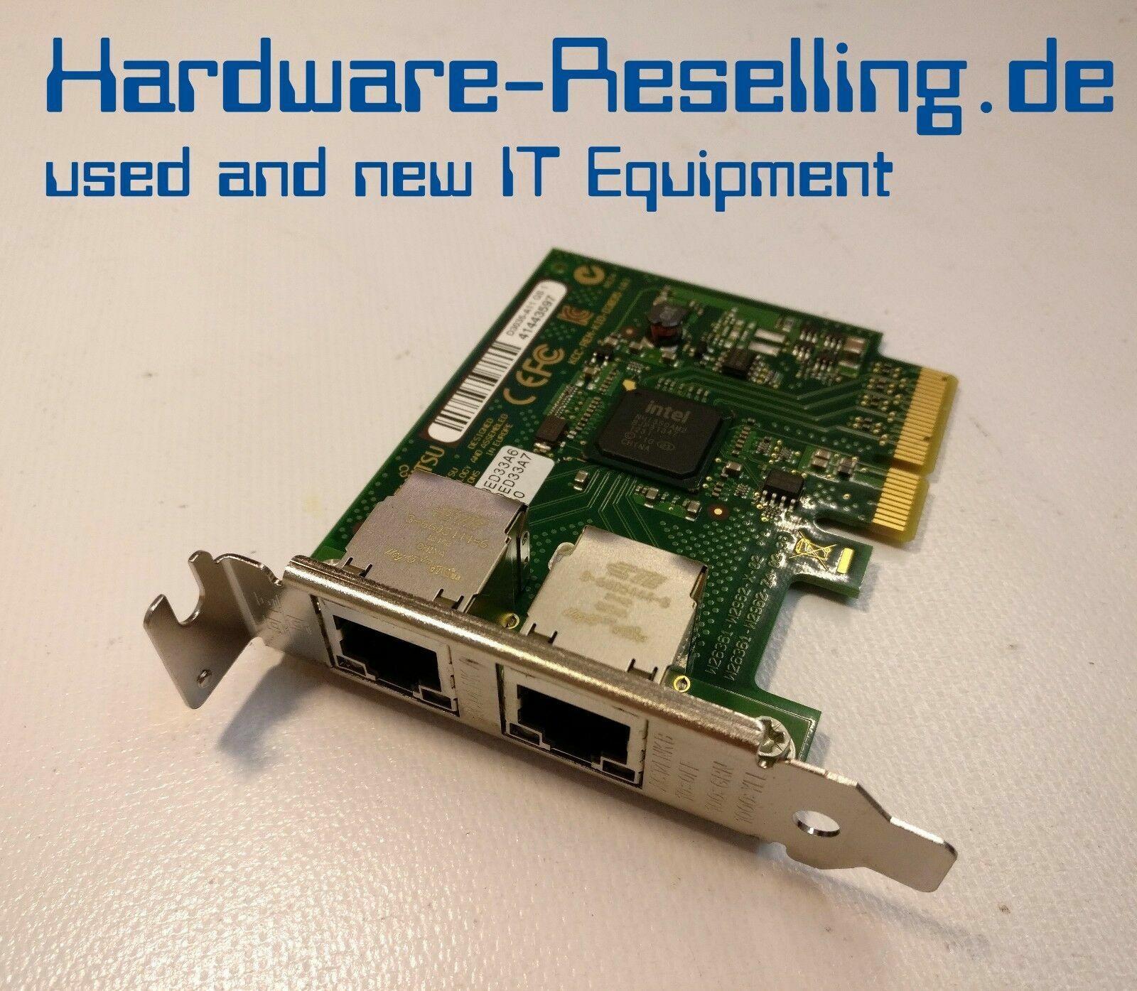 Fujitsu Dual Port Gigabit Server Adapter D3035
