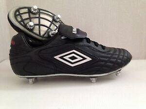 Detalles de Chaussures de Foot neuves Umbro Risponsa League crampons vissés pointure 43