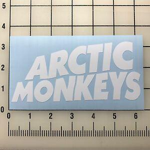 Artic-Monkeys-6-034-Wide-White-Vinyl-Decal-Sticker-BOGO