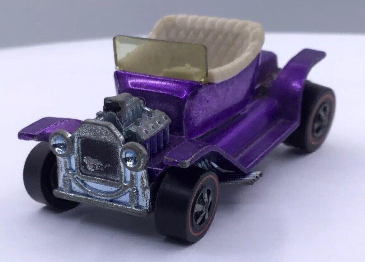 Antiguo Hotwheels-montón de Hot-viola - 1968 Mattel Inc. (T26)