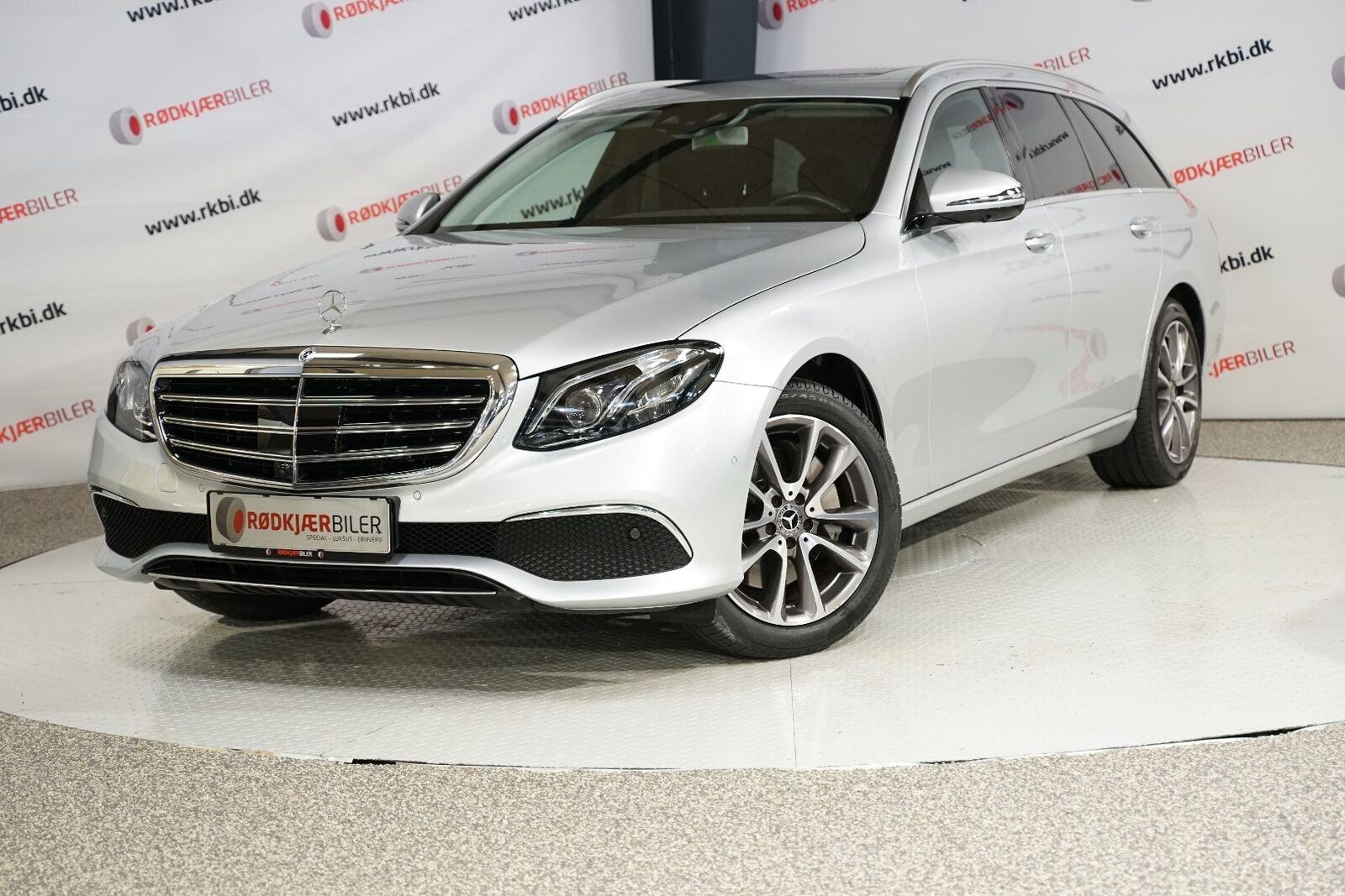 Mercedes E350 d 3,0 Exclusive stc. aut. 5d - 4.191 kr.