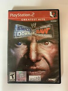 Smack Down vs Raw  Play Station 2 Used Game A09