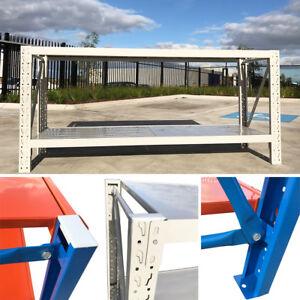 1-5M-Length-Steel-Garage-Work-Bench-Shelves-Workshop-Workbench-Racks-Workbenches