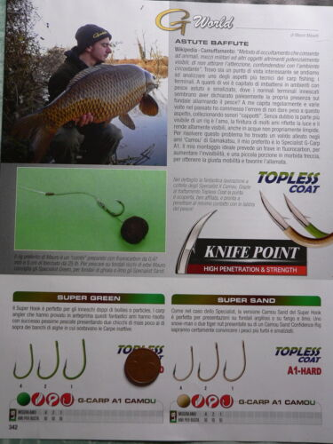 Ami Gamakatsu Super A1 Hard vari modelli e misure pesca carp fishing