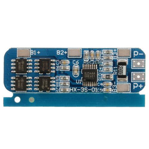 3S 10A 18650 Li-ion Lithium Battery Schutz Tafel 3.7V  HX-35-01 BMS Charger