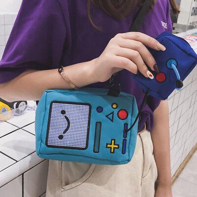 Adventure Time Fionna MPG Jake Finn BMO Oxford Shoulder Bag Rare Be