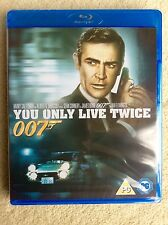 You Only Live Twice (Blu-ray, 2013) BRAND NEW, FACTORY SEALED