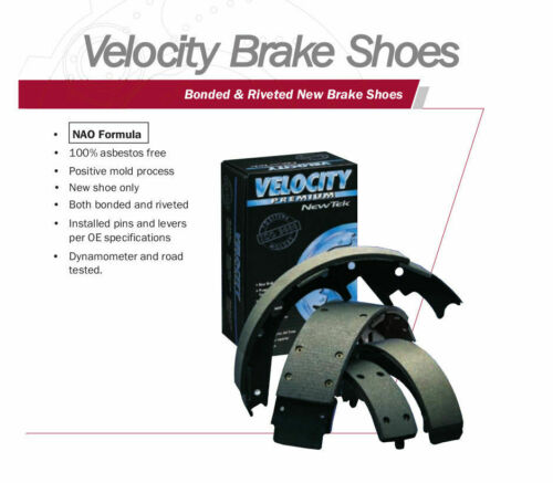 NB752 Bonded Parking Brake Shoe Fits 97-99 Ford F-250