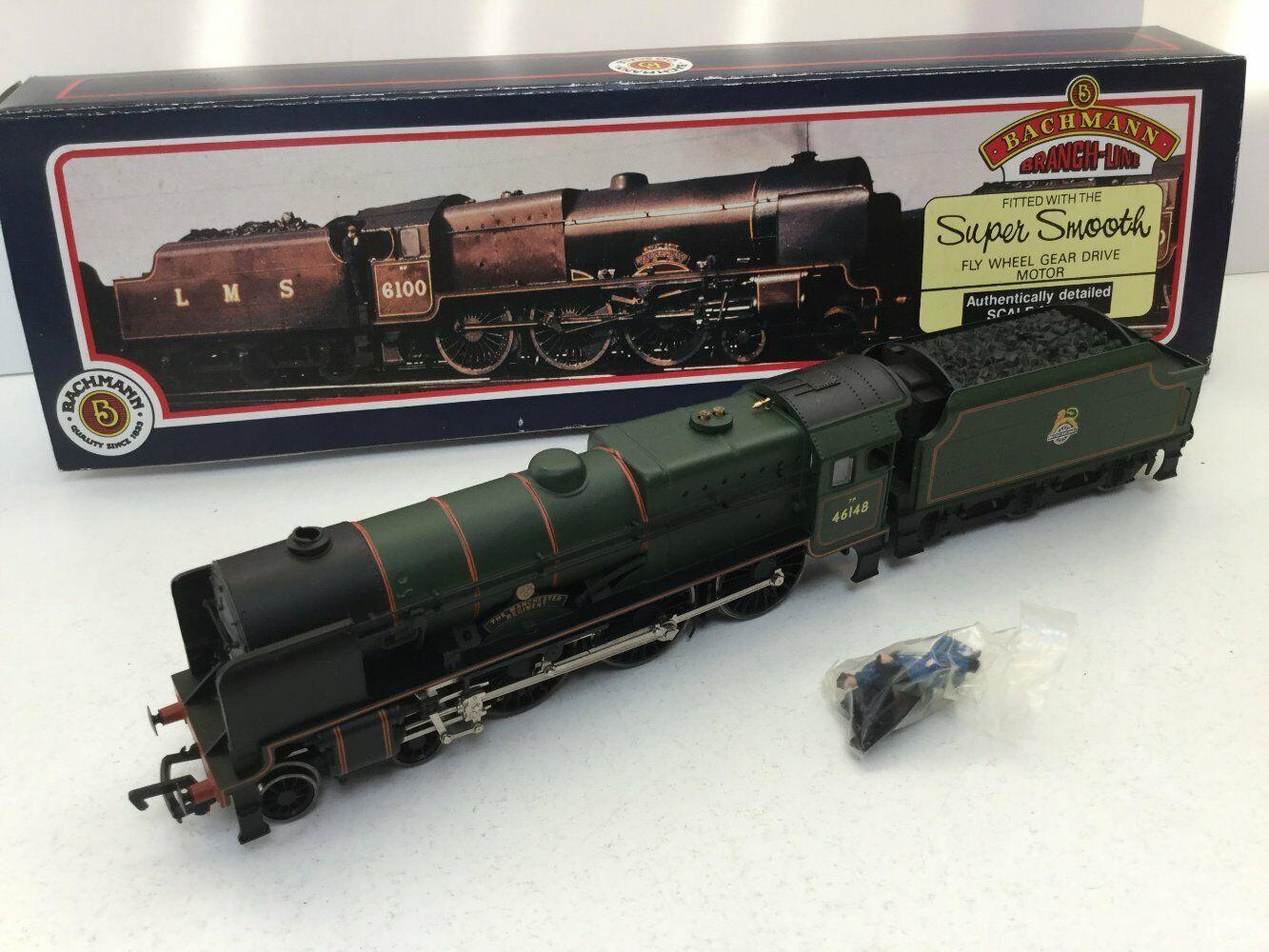 Bachmann 31-278 OO Gauge BR verde Royal Scot 46148 Manchester Regiment