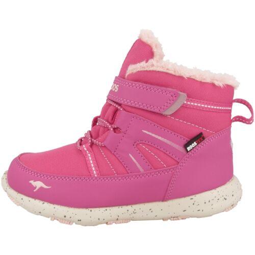 KangaROOS K-Snow Scarpe Per Bambini Stivali Stivali Invernali Foderati Rosa 02014-6013