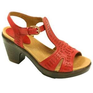 Kravings by Klogs Women MERCER Leather Sandals Display Model Black 8 M