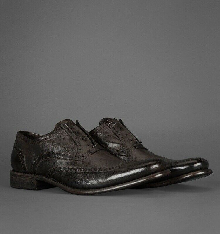 John Varvatos Collection Bowery Laceless Wingtip. Dimensione 10   43