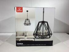Globe Electric Sansa 5 Light Dark Bronze Chandelier 65435