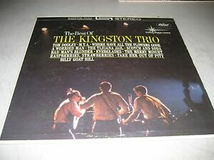 THE-BEST-OF-THE-KINGSTON-TRIO-LP-VG-Capitol-Star-Line-ST-1705-1962