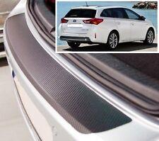 Toyota Auris Touring Deportivo - Estilo Carbono parachoques trasero Protector
