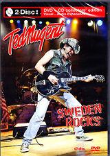 Ted Nugent Sweden Rocks DVD + CD NUOVO OVP/SEALED
