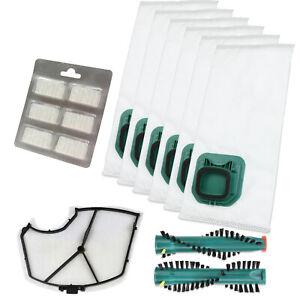 18 Staubsaugerbeutel Filtertüten geeignet für Vorwerk Kobold 140 150