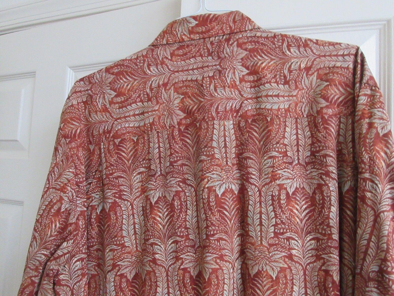 Tommy Bahama , Size XL , Men's Long Sleeve Shirt ,70% C