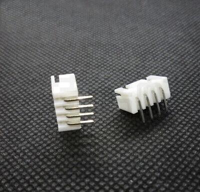 100PCS XH2.54 2.54mm 4P 4 Pin PCB Header JST Connector Socket