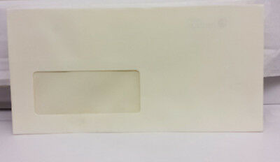 25-500 NATURAL WHITE DL ENVELOPES PEEL /& SEAL STRAIGHT FLAP
