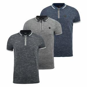 Mens-Polo-Shirt-kangol-Short-Sleeve-T-Shirt-Top-Jack
